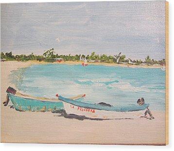 Punta Cana Wood Print