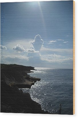 Wood Print featuring the photograph Punta Marchaquita by Daniel Sheldon