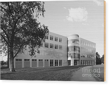 Purdue University Discovery Learning Center Wood Print by University Icons