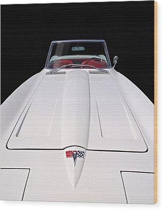 Pure Enjoyment - 1964 Corvette Stingray Wood Print