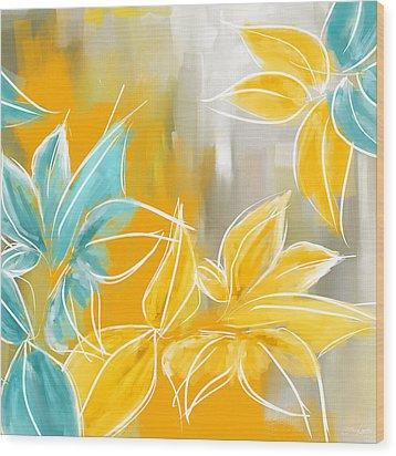 Pure Radiance Wood Print