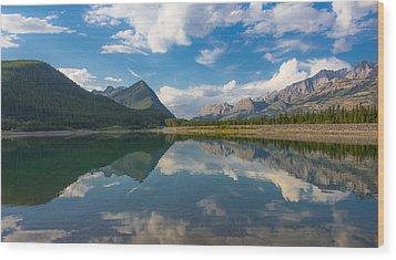 Purely Alberta Wood Print by Laura Bentley