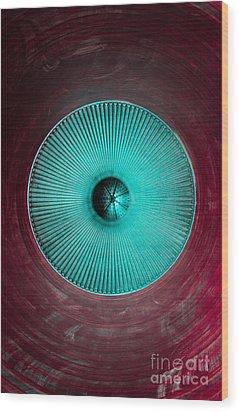 Purple Chamber Wood Print by Dan Julien
