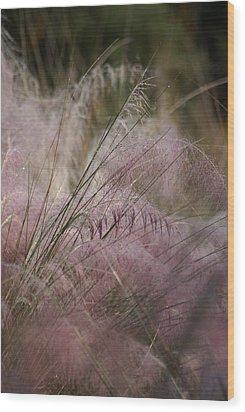 Purple In Bloom Wood Print by Patricia Twardzik