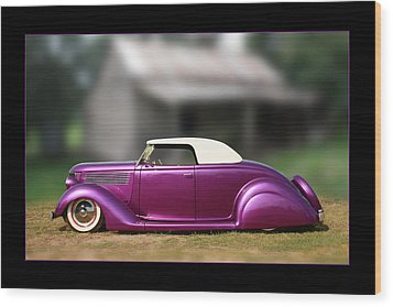 Wood Print featuring the photograph Purple Perfection by Keith Hawley