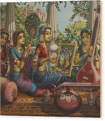 Purva Raga Wood Print
