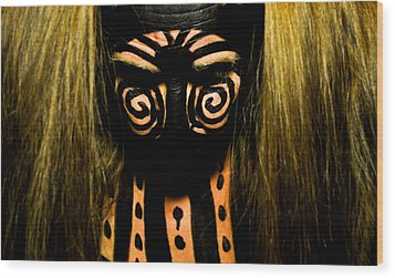 Pw Db001 Wood Print by Kristen R Kennedy