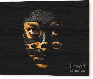 Pw Ev001 Wood Print by Kristen R Kennedy