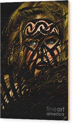 Pw Jk004 Wood Print by Kristen R Kennedy