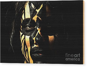 Pw Kh001 Wood Print by Kristen R Kennedy