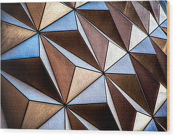 Wood Print featuring the photograph Pyramids  by Joshua Minso