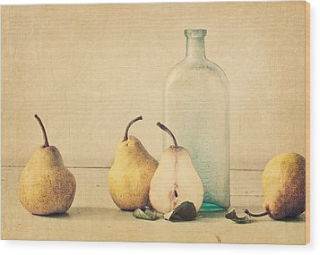 Quartet Wood Print by Amy Weiss