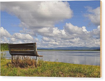 Wood Print featuring the photograph Quartz Lake by Cathy Mahnke