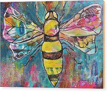 Queen Bee #2 Wood Print