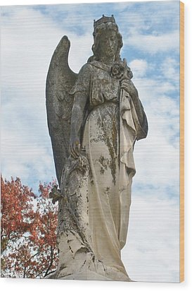 Queen Of The Angels Wood Print