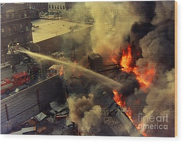 Queens Third Alarm Wood Print