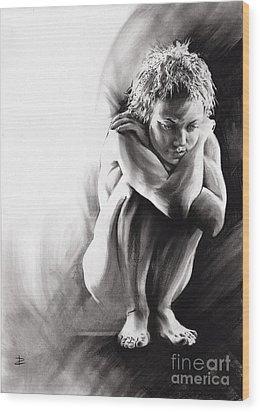 Quiescent II Wood Print by Paul Davenport