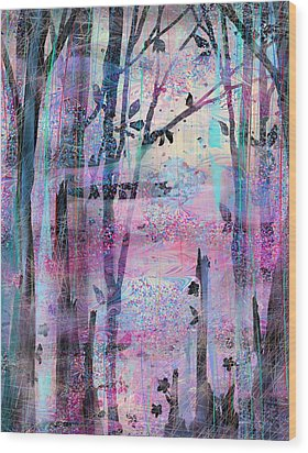 Quiet Place Wood Print by Rachel Christine Nowicki