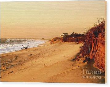 Quiet Summer Sunset Wood Print