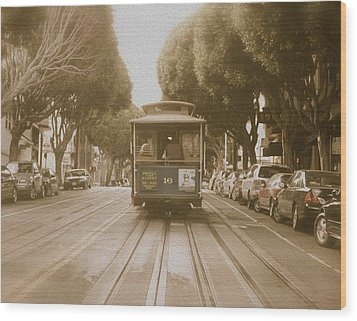 Quintessential San Francisco Wood Print