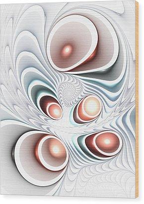 Quintet Wood Print by Anastasiya Malakhova