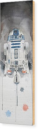 R2 Wood Print by David Kraig