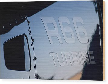 R66 Reflection Wood Print by Paul Job