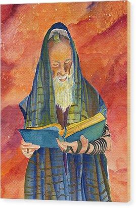 Rabbi I Wood Print