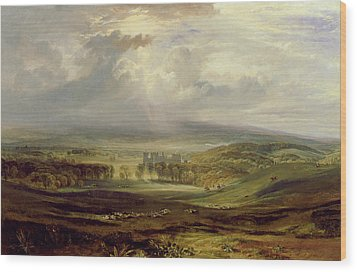 Raby Castle Wood Print by Joseph Mallord William Turner