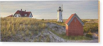 Race Point Lighthouse Wood Print