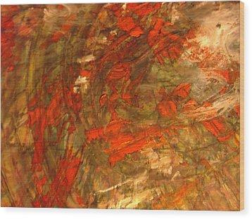 Raconteur Wood Print by Karen Lillard