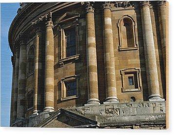 Radcliffe Camera Wood Print by Joseph Yarbrough