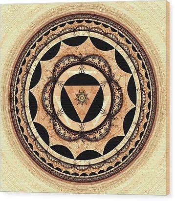 Radiant Affection Wood Print by Anastasiya Malakhova