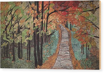 Radiant Beauty Wood Print by Anita Jacques