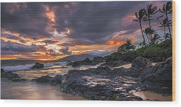Wood Print featuring the photograph Radiant Maui by Hawaii  Fine Art Photography
