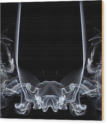 Raging Bull 1 Wood Print by Steve Purnell