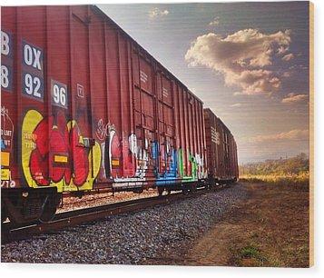 Railways Wood Print