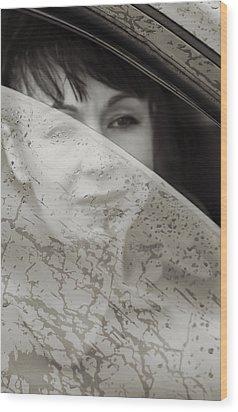 Rain Again Wood Print by Svetlana Sewell
