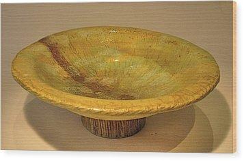 Rain Bowl Wood Print