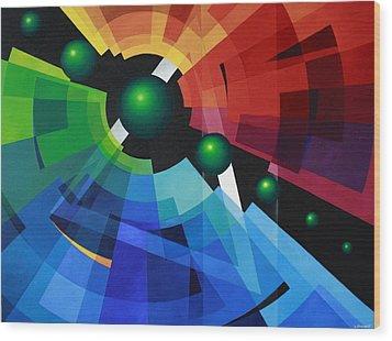 Rainbow Wood Print by Alberto DAssumpcao