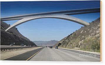 Rainbow Bridge - 02 Wood Print by Gregory Dyer