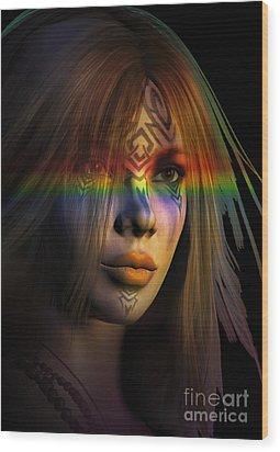 Rainbow Warrior ... Two  Wood Print