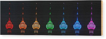 Wood Print featuring the photograph Rainbow by Yue Wang