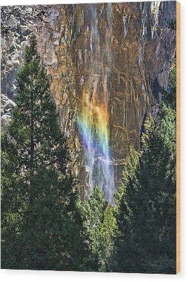 Rainbows And Promises Wood Print