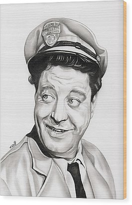Ralph Kramden Wood Print by Fred Larucci