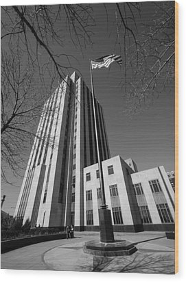 Ramsey County Courthouse Wood Print