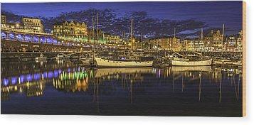 Ramsgate Marina Wood Print