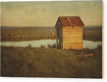 Ramshackle Wood Print by Amy Weiss