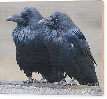 Ravens Wood Print