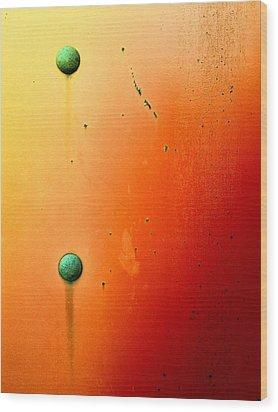 Raw Steel 5 Wood Print by Tom Druin